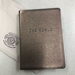 GHURKA THE WORLD travel Leather lined journal